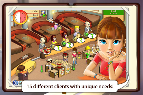 Screenshot Amelie's Cafe Lite