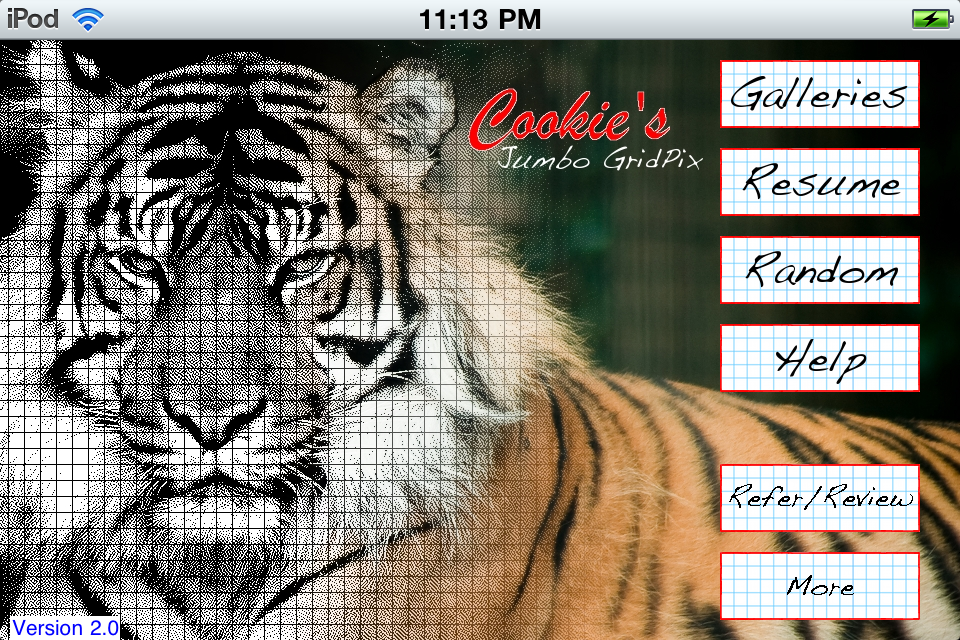 Screenshot Jumbo GridPix